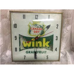WINK CLOCK, NON FUNCTIONING