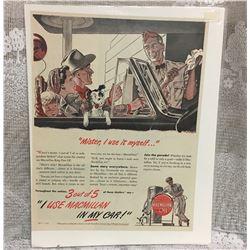 MACMILLAN OIL PAPER AD, 1946