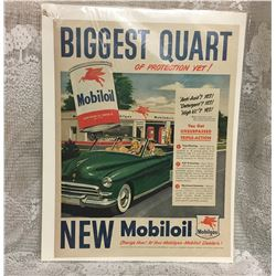 MOBIL OIL PAPER AD