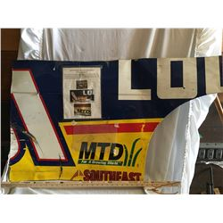 NASCAR CAR PANEL, DRIVEN AND SIGNED BY MIKE SKINNER, #31