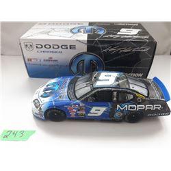 NASCAR 1:24 SCALE DIECAST, MOPAR #9 CAR, NEW IN BOX