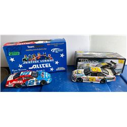 GR OF 2 NASCAR 1:24 SCALE DIECAST, RYAN NEWMAN, KEVIN HARVICK CARS, W/BOX