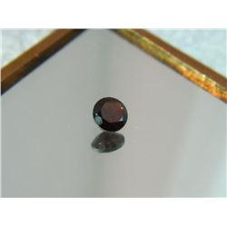 GEMSTONE - GARNET - ROUND FACETED - 5.1 X 2.8mm