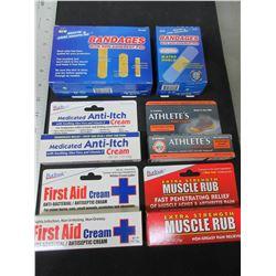 Large First Aid Bundle / Bandages & Creams /  Huge value lot