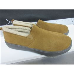 New Mossimo Slippers Genuine Suede non marking sole size 12