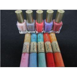 New lot of 10 REVLON & L'OREAL Nail polish and Nail Art / assorted