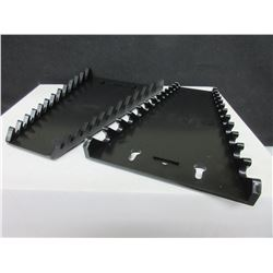 Set of 2 New Magnetic Wrench Racks / low profile for your Toolbox drawers
