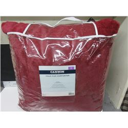 New KING Comforter machine wash 100% polyester filling