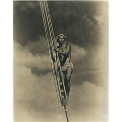 F.W. Murnau oversize portrait photograph of Matahi from Tabu.