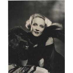 Marlene Dietrich oversize portrait photograph from Shanghai Express.