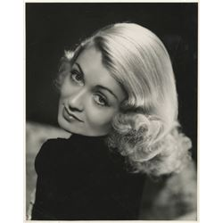 Constance Bennett oversize special portrait photograph for Merrily We Live.