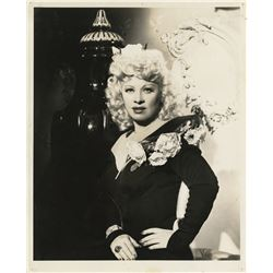 Golden Age stars and featured players (17) photographs including Mae West and Glenn Ford.