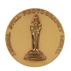 Clarence Sinclair Bull 1943 Academy of Motion Picture Arts & Sciences Annual Still Photography Medal