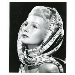 Rita Hayworth portrait photograph from The Lady from Shanghai by Robert Coburn.