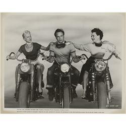 Marlon Brando (17) original and rerelease photographs for The Wild One.