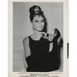 Audrey Hepburn (4) photographs from Breakfast at Tiffany's.