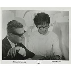 Federico Fellini (30+) photographs from 8 ½.
