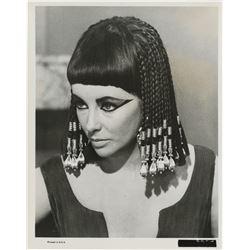 "Elizabeth Taylor (8) ""Beauty Secrets of Ancient Egypt"" photo set & press release from Cleopatra."