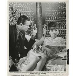 Audrey Hepburn (20+) photographs from Paris When It Sizzles.