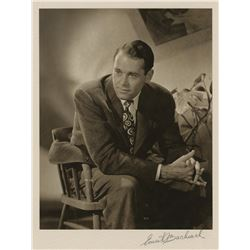 Henry Fonda exhibition photograph signed by Ernest A. Bachrach.
