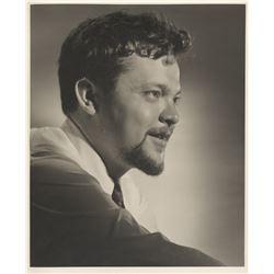 Orson Welles (2) portrait photographs for Citizen Kane by Ernest A. Bachrach.
