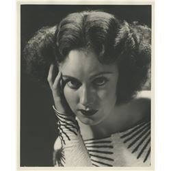 Fay Wray (2) oversize portrait photographs by Ernest A. Bachrach.