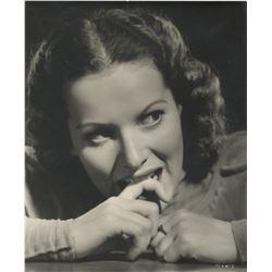Maureen O'Hara (9) oversize portrait photographs.