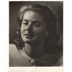 Ingrid Bergman (7) oversize portrait photographs by Ernest A. Bachrach.