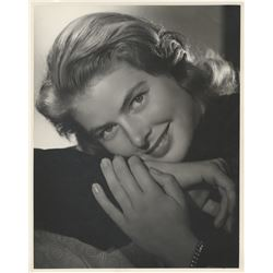 Ingrid Bergman (5) oversize portrait photographs by Ernest A. Bachrach.