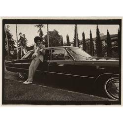 Jimi Hendrix photograph by Alan Pappé.