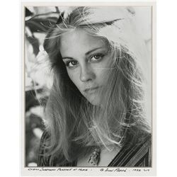 Cybill Shepherd (2) matted exhibition photographs by Alan Pappé.