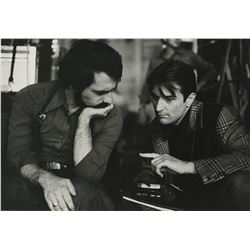 Martin Scorsese & Robert De Niro behind-the-scenes photograph from New York, New York by Alan Pappé.