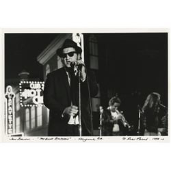 John Belushi photograph from The Blues Brothers by Alan Pappé.