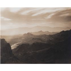 Scenic vistas (2) exhibition photographs.