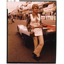 The women of Le Mans (4) color transparencies.