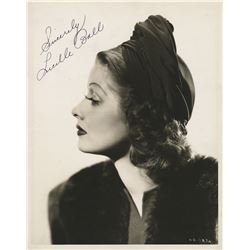 Lucille Ball signed oversize photo.