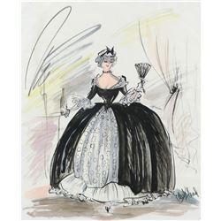 "Brigitte Auber ""Danielle Foussard"" by Edith Head from To Catch a Thief."