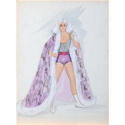 """Henry Winkler """"Andy Schmidt"""" costume sketch by Moss Mabry for The One and Only."""