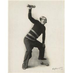 Harold Lloyd personal (14) early portrait photographs.