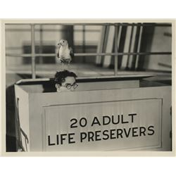 Harold Lloyd personal (40+) photographs from Feet First.
