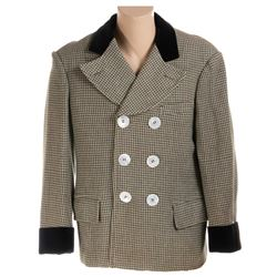 """Wallace Beery """"Chuck Connors"""" jacket from The Bowery."""