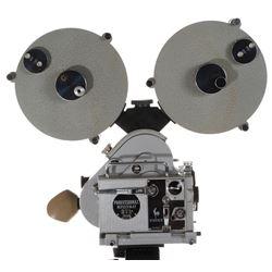 Howard Hughes Pathé Professional Reflex-16 AT BTL 16mm Movie camera.