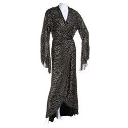 "Marlene Dietrich ""Shanghai Lily"" signature publicity robe from Shanghai Express."