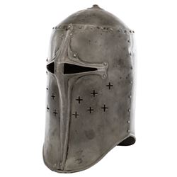 "Henry Wilcoxon ""King Richard"" helmet worn in The Crusades."