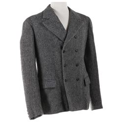 "Basil Rathbone ""Sherlock Holmes"" tweed wool jacket from Hound of the Baskervilles."