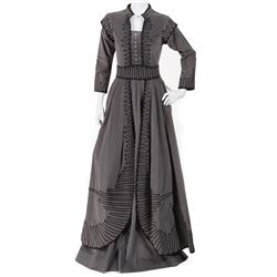 """Vivien Leigh """"Scarlett O'Hara"""" exhibition """"Shanty Town"""" corduroy costume from Gone With the Wind."""