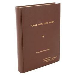 Gone With the Wind presentation script inscribed by David O. Selznick to Atlanta Mayor Hartsfield.