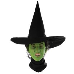 """Margaret Hamilton """"Wicked Witch of the West"""" screen-worn flying hat from The Wizard of Oz."""