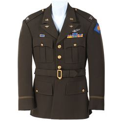 """John Rodney """"Col. William 'Bill' Brickley"""" Military Jacket from 1948's Fighter Squadron."""