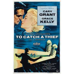 To Catch a Thief 1-sheet poster.